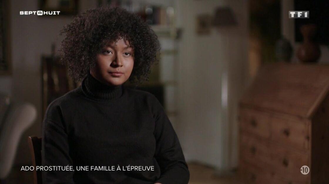 Nina dans Sept à Huit, dimanche 16 février 2020.