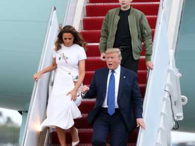 PHOTOS - Barron Trump : l'évolution style du fils de Melania et Donald