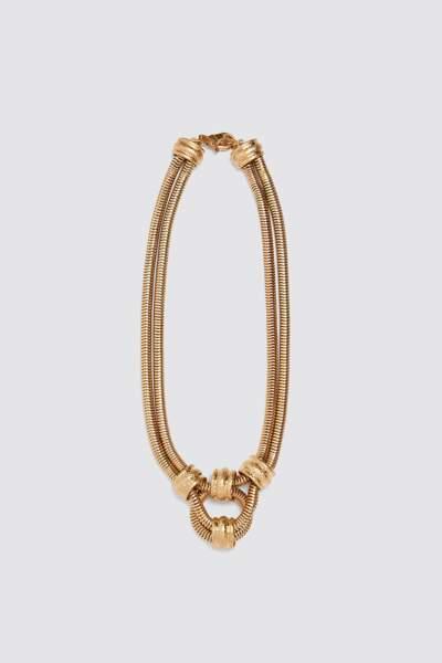 Collier, Zara, 19,95 €.