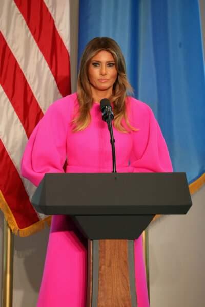 Melania Trump à New York le 20 septembre 2017