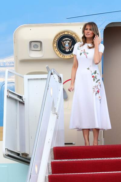 Melania Trump le 17 janvier 2020 en Floride