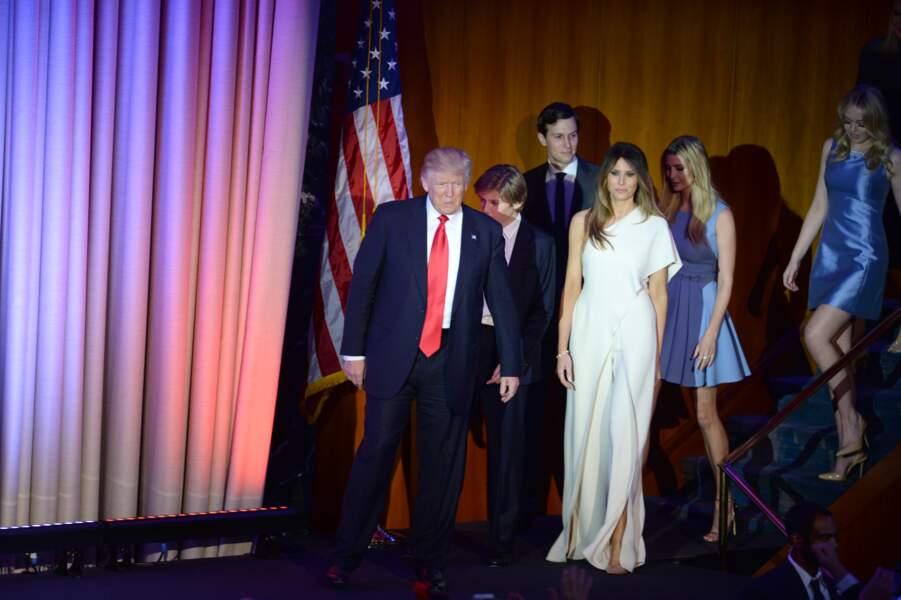 Melania Trump, le 9 novembre 2016 à New York