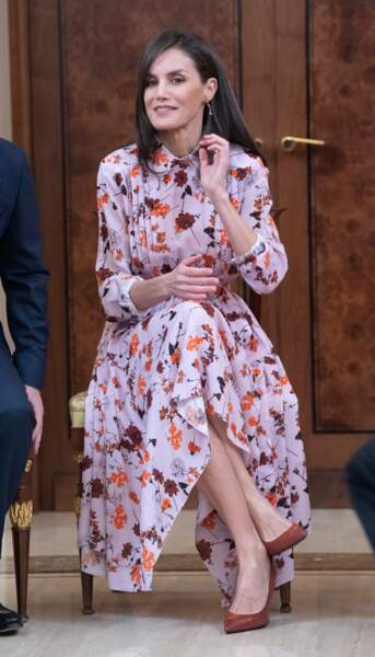 Letizia, reine de la mode