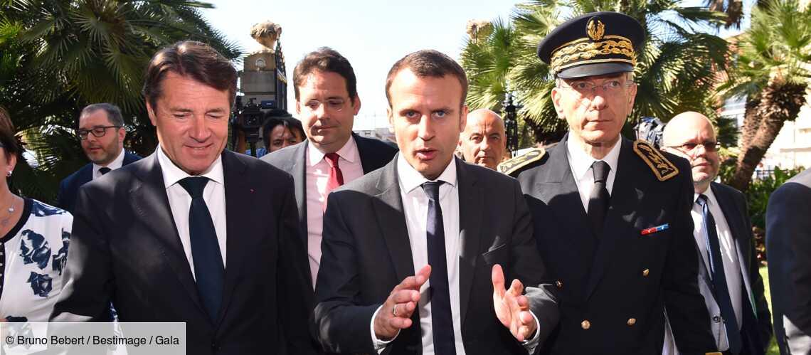 Ce geste d'Emmanuel Macron que Christian Estrosi n'oubliera jamais - Gala