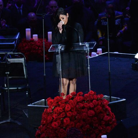 PHOTOS – Hommage à Kobe Bryant: le discours poignant de sa veuve Vanessa