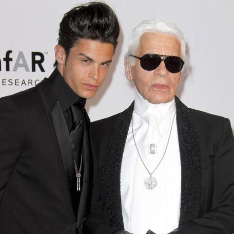 Karl Lagerfeld: comment il a tout fait pour cacher sa maladie à Baptiste Giabiconi