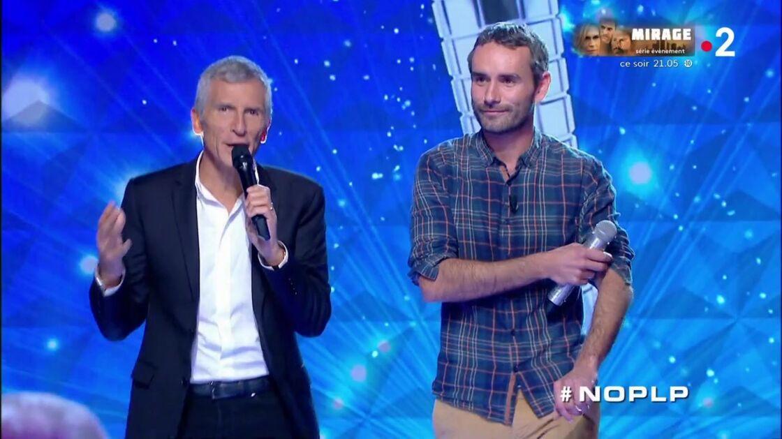 Nagui au côté de Mickaël, le nouveau maestro de l'émission