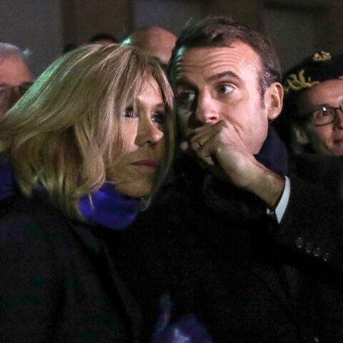 Emmanuel et Brigitte Macron enlacés, cet instant de complicité à l'Elysée