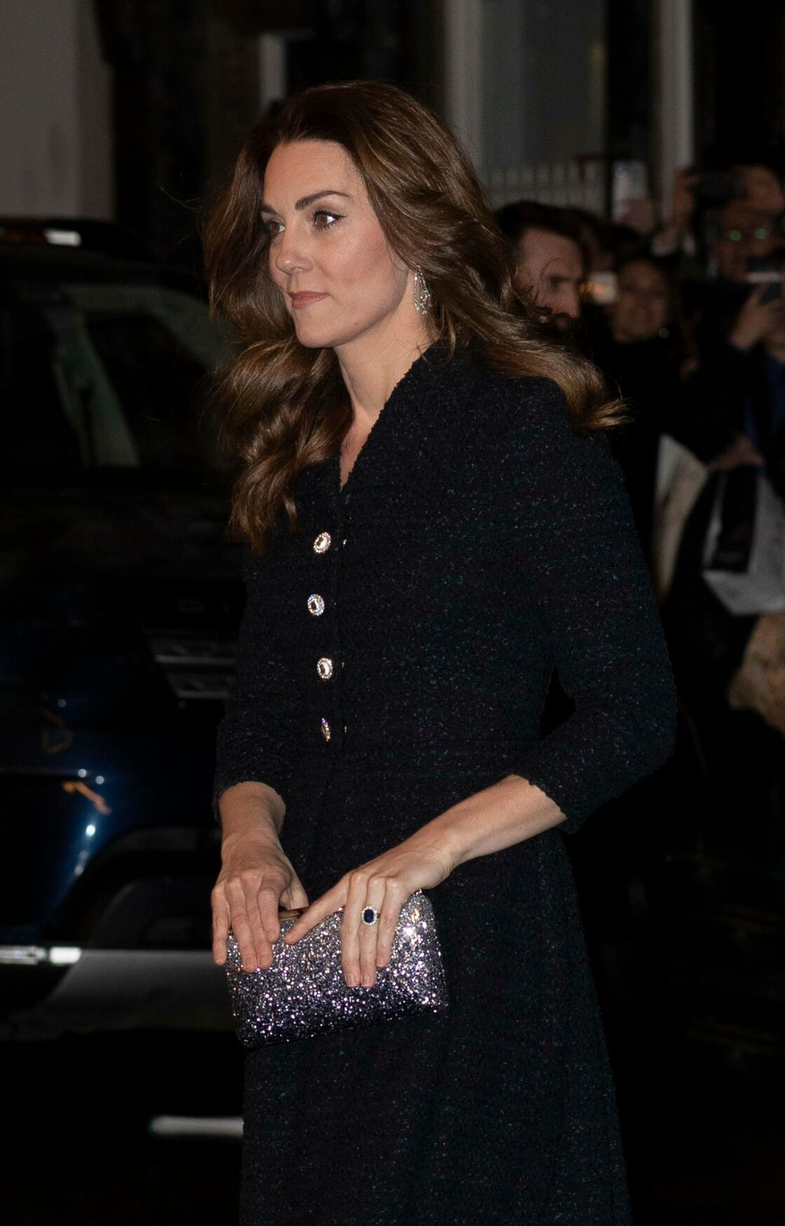 Kate Middleton étincelante le mardi 25 février