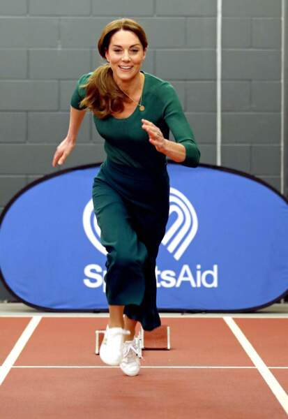 And the winner is... Kate Middleton ! au stade olympique de Londres
