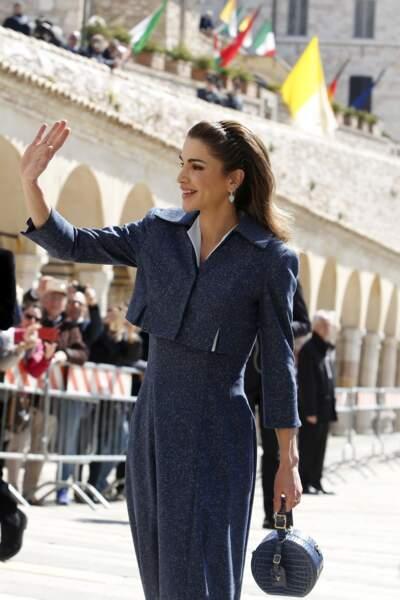 La future Rania de Jordanie a brièvement travaillé pour la Citibank, avant de rejoindre le service marketing d'Apple Inc., à Amman.