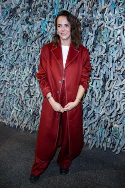 Styliste désormais confirmée, Pauline Ducruet présente avec fierté sa seconde collection mode le 25 février 2020 au Palais de Tokyo à Paris.