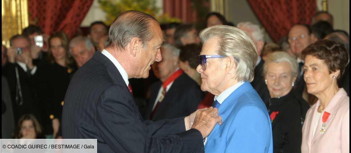 Jacques Chirac sentimental : ce petit mot laissé chez Michou - Gala