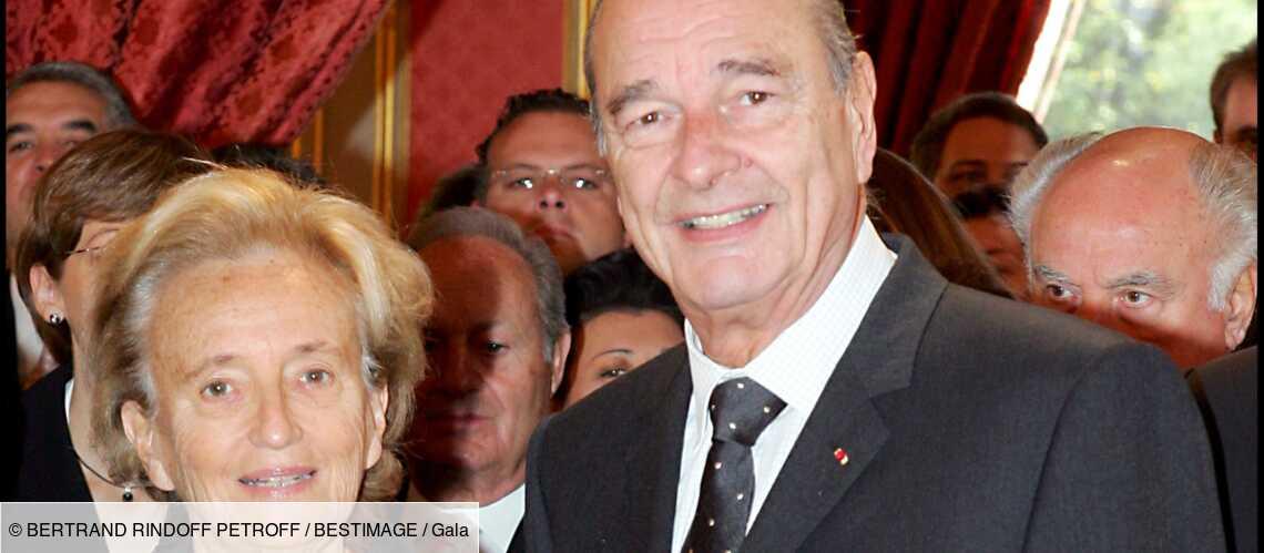 Bernadette Chirac : comment elle surveillait le bureau de son mari à la mairie de Paris - Gala