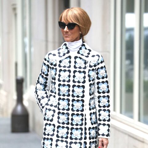PHOTOS – Aux Etats-Unis, Céline Dion ose un look rétro toujours plus excentrique