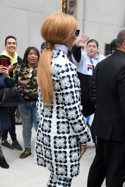 Céline Dion montre ce 3 mars une nouvelle coupe de cheveux