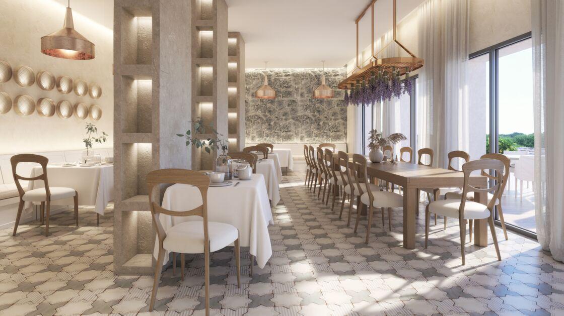Le restaurant Esmaris, parfait pour un dîner aux accents gastronomiques