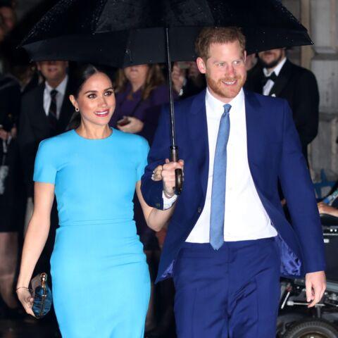 """Meghan Markle et Harry en mode """"lune de miel"""": tous ces gestes tendres remarqués"""
