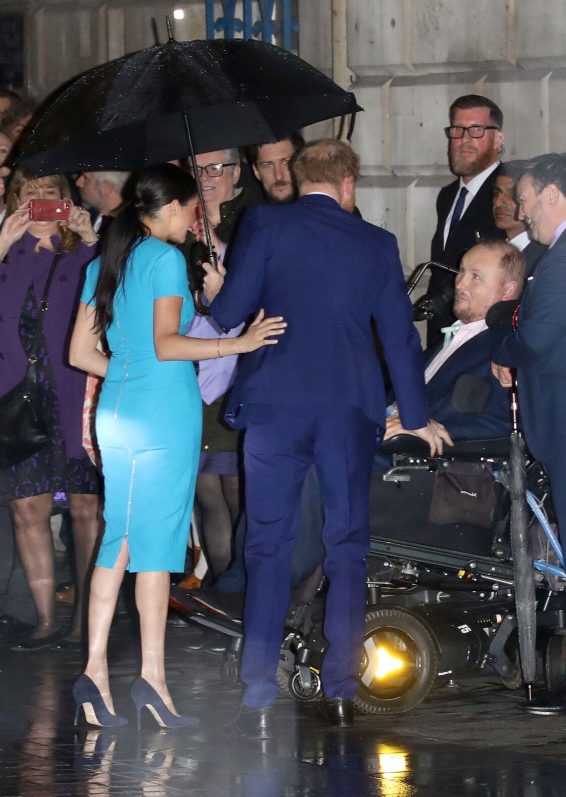 Le prince Harry et Meghan Markle, aux Endeavour Fund Awards, à Londres, ce 5 mars 2020.