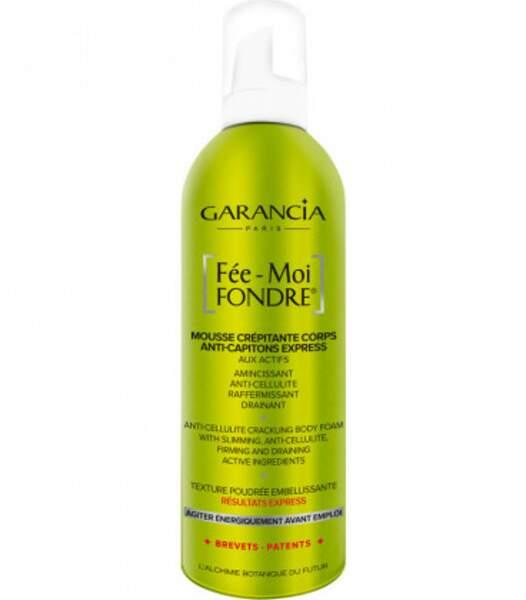 Fée-Moi Fondre de Garancia revient avec une nouvelle formule boostée avec la promesses de résultats anti-cellulite, raffermissants et drainants encore plus rapides. 39,90€
