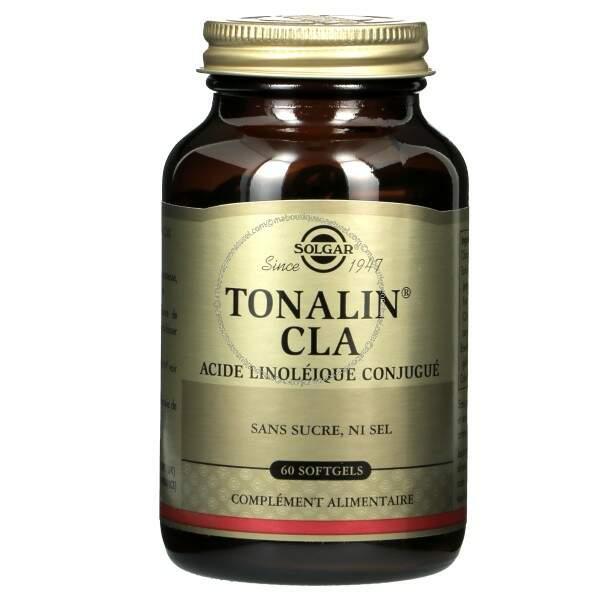CLA Tonalin de Solgar permet de diminuer l'absorption et le stockage des graisses tout en préservant la masse musculaire. 39€