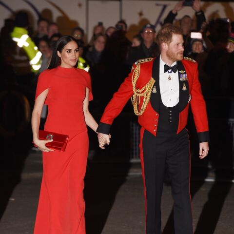 PHOTOS – Meghan Markle et Harry ultra-élégants au Royal Albert Hall de Londres
