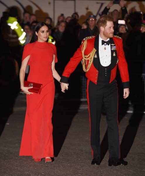 Complices et élégants,Meghan Markle et le prince Harry ont capté tous les regards.