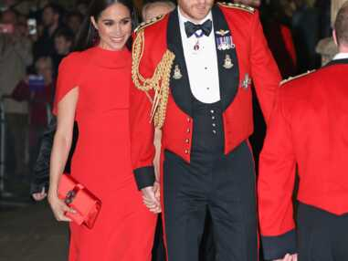 PHOTOS - Meghan Markle et Harry ultra-élégants au Royal Albert Hall de Londres