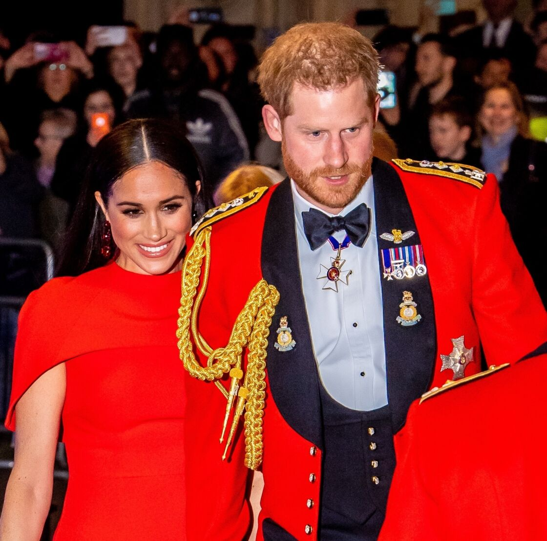 Meghan Markle et Harry, le 7 mars 2020 au Royal Albert Hall