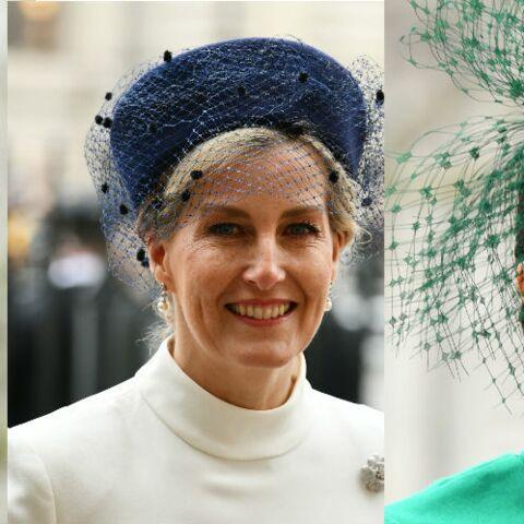PHOTOS – Kate Middleton, Meghan Markle et Sophie de Wessex rivalisent d'élégance pour leur dernière apparition ensemble
