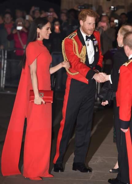 Meghan Markle et le prince Harry, un couple chic et élégant.