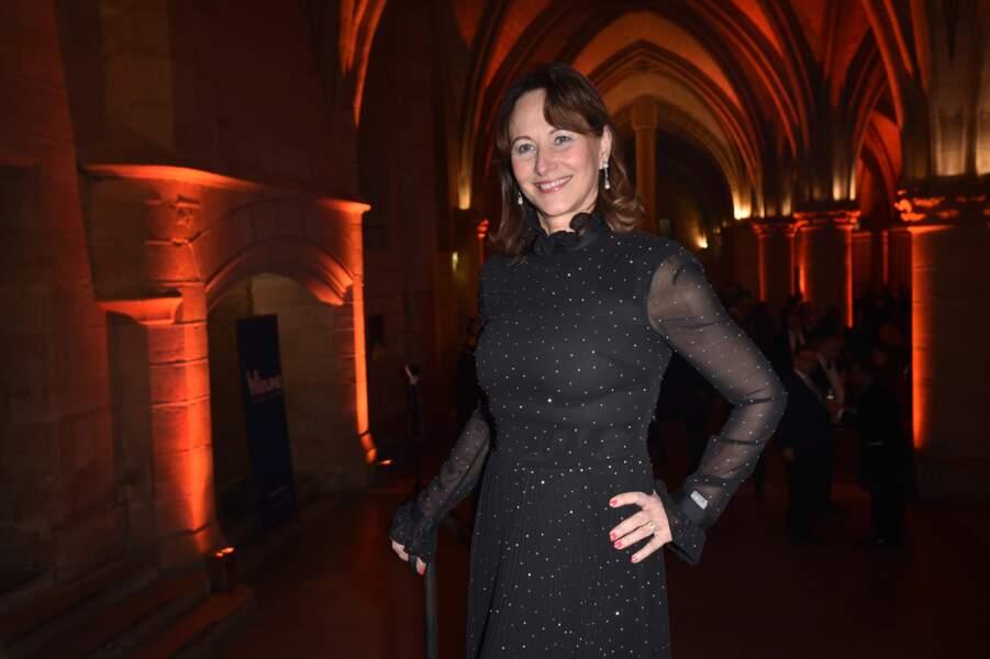 Ségolène Royal était très chic lors de cette soirée de gala organisée à Paris