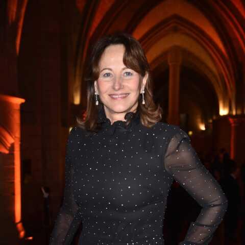 PHOTOS – Ségolène Royal en robe strassée et transparente: elle joue la carte du glamour à un gala de musique