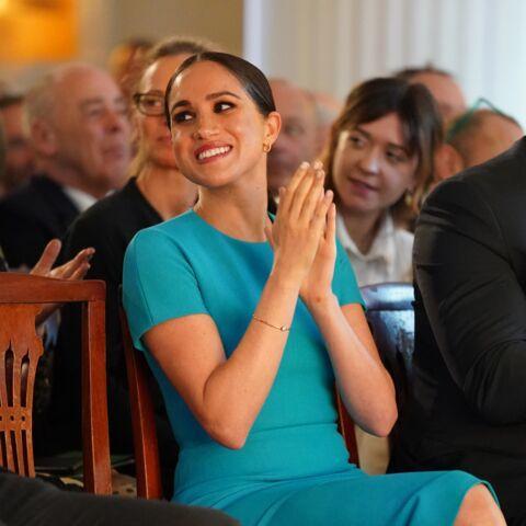 Meghan Markle: la robe moulante de sa dernière apparition publique en tant que Royal fait un carton