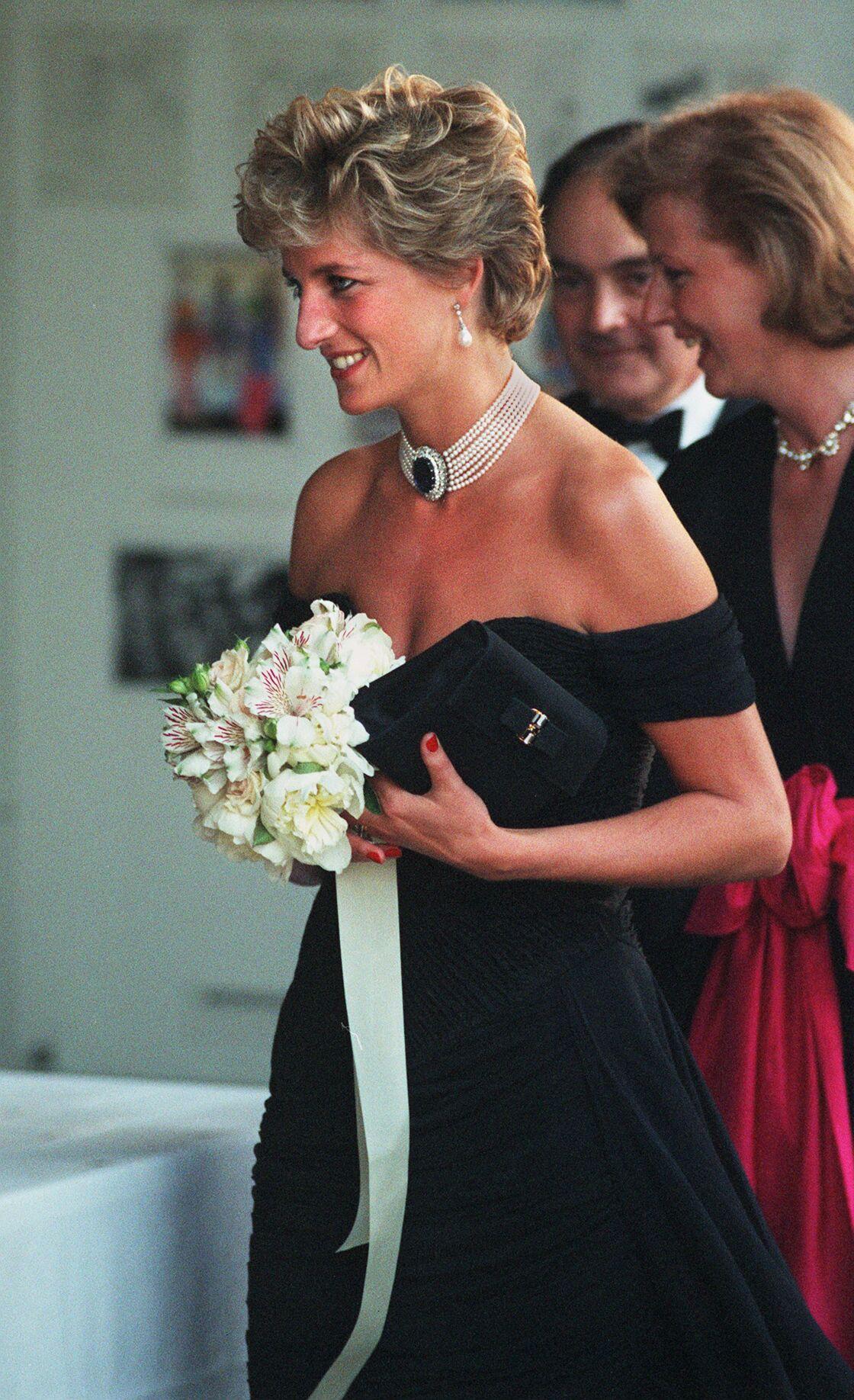 La princesse Diana dans sa