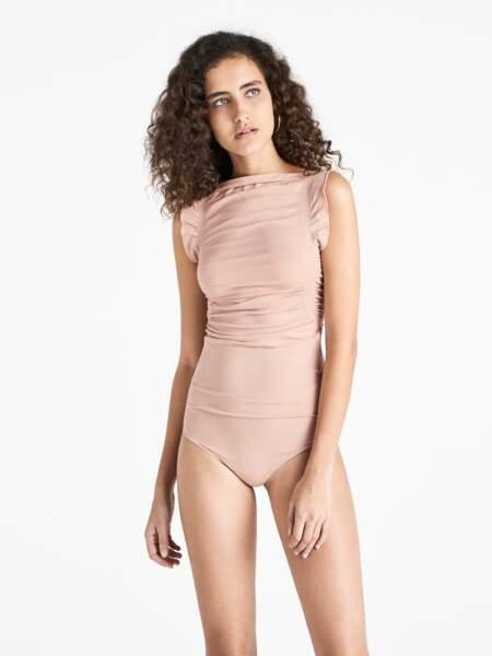 Body drapé Wolford, 145€