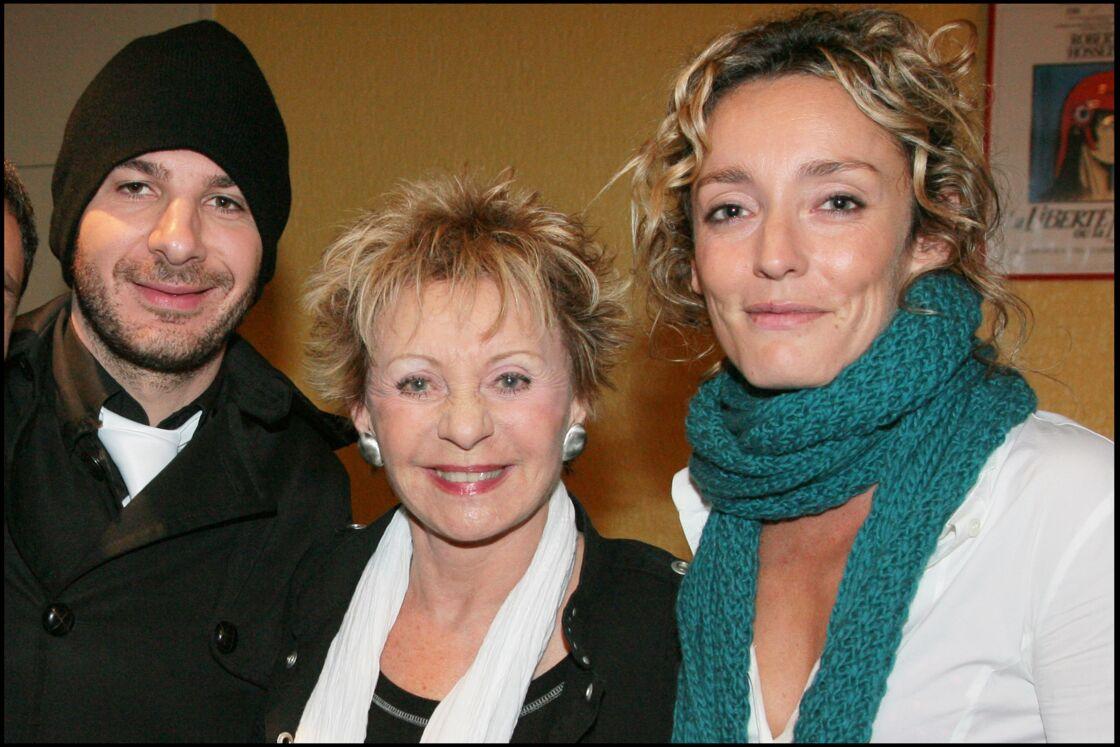 Michaël Youn, Annie Cordy et Juliette Arnaud au concert de Charles Aznavour à Paris, en 2007.
