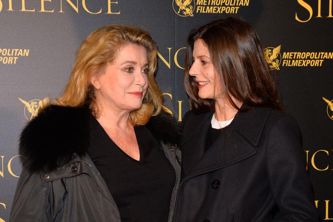Avec sa fille Chiara Mastroianni