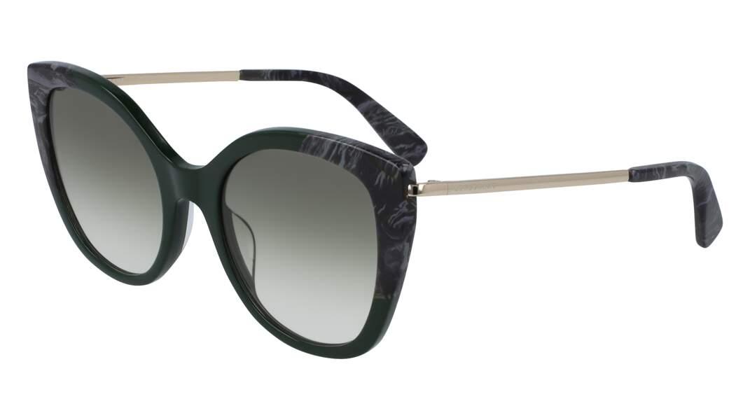 Lunettes de soleil, 155€, Longchamp.
