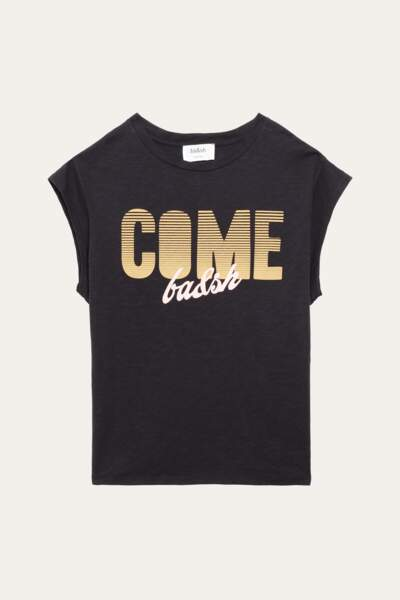 Tee-shirt en coton, 70€, Ba&sh.