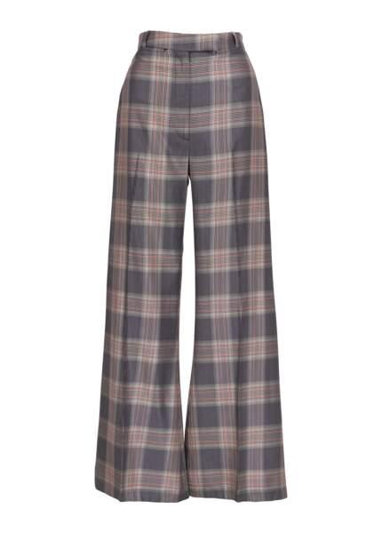 Pantalon en tartan gris, 225€, Essentiel Antwerp.