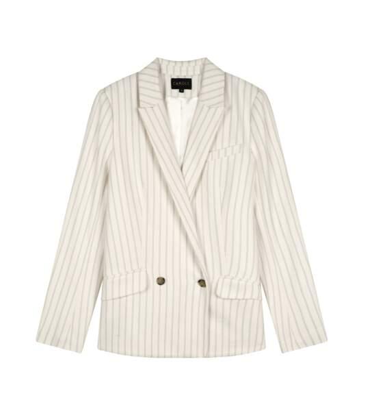 Veste tailleur, 160€, Caroll.