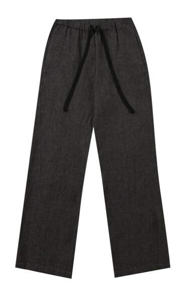 Pantalon large en lin, 202€, Diega.