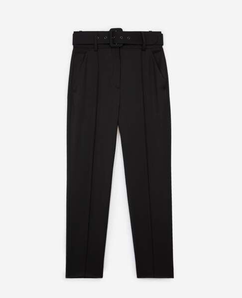 Pantalon en laine, 198€, The Kooples.
