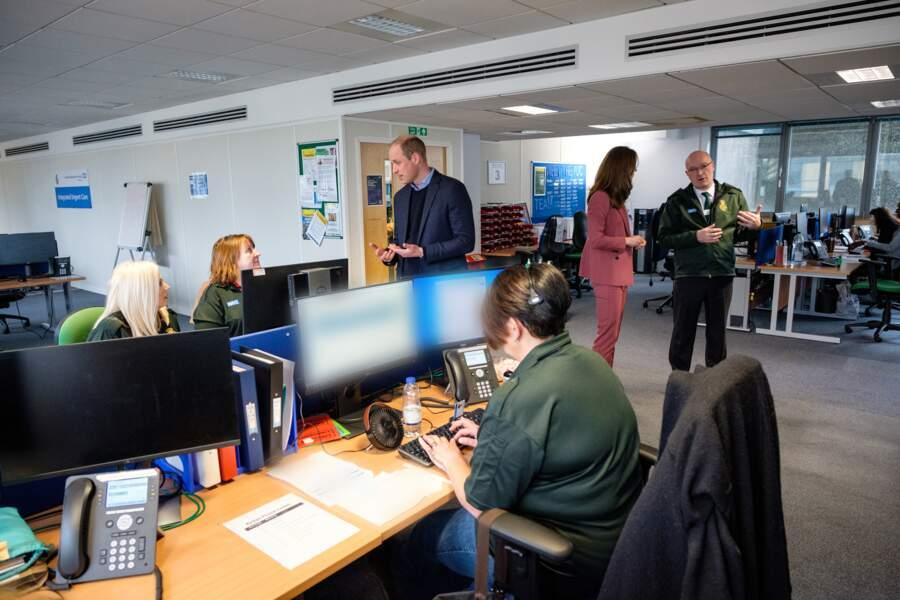 Une visite que les équipes du London Ambulance Centre ne risquent pas d'oublier !