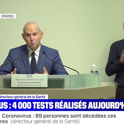Jérôme Salomon, «un bon fusible»? La polémique des masques a laissé des traces