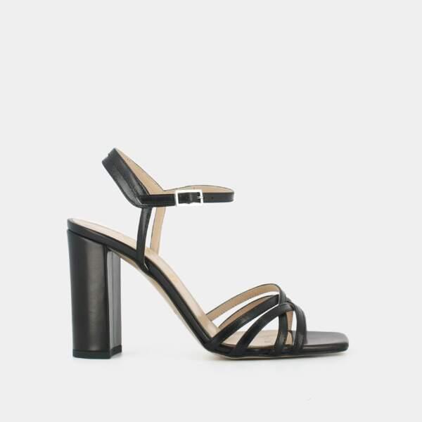 Sandales à talon, 145 €, Jonak