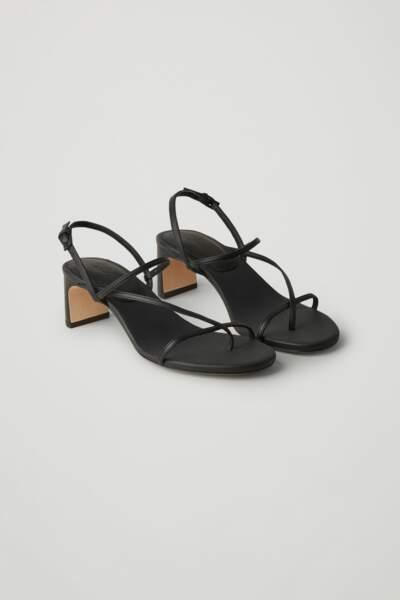 Sandales à talon, 135 €, Cos