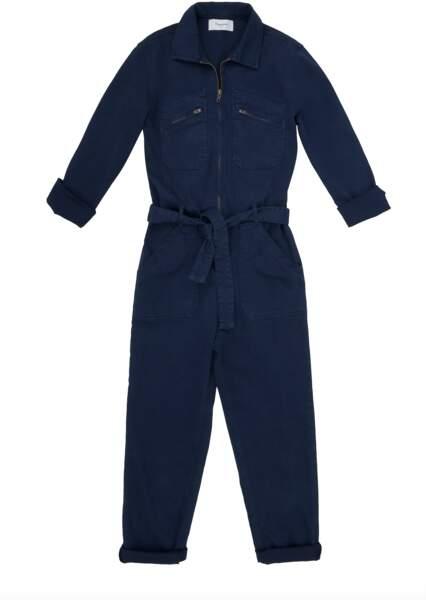 Combinaison en jean bleu foncé,  245€, Acquaverde