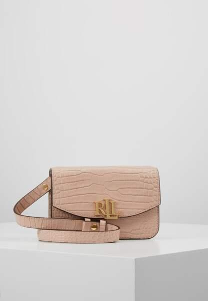 LAUREN RALPH LAUREN - Sac ceinture rose, 160€